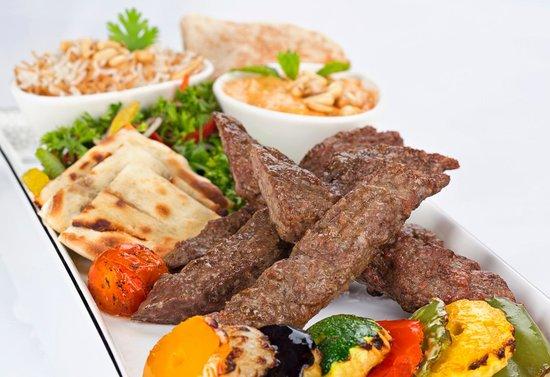Mijana: Kebab Platter