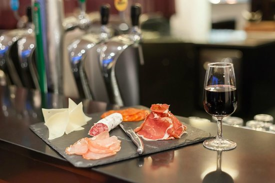 Hotel de Massane : Assiette de tapas