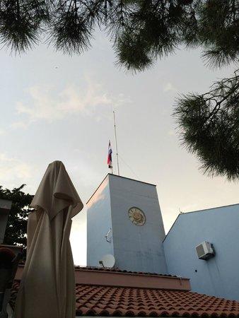 Zaton Holiday Resort: flag