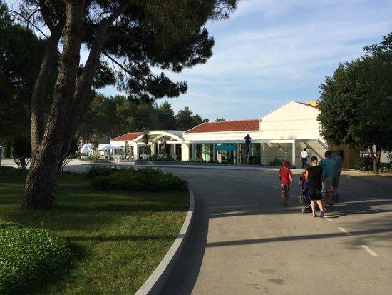 Zaton Holiday Resort: apartments reception