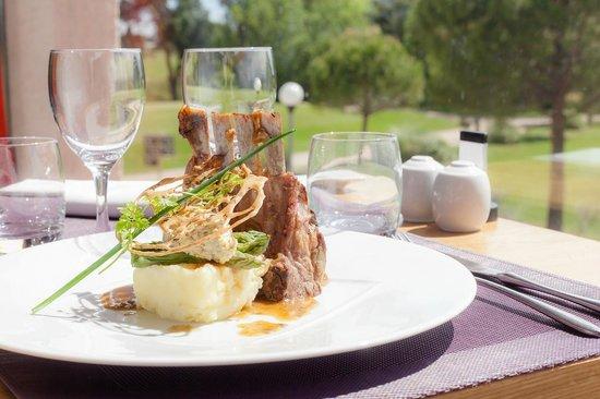 Hotel de Massane : Restaurant Le 360