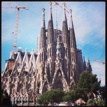 GoBarcelonaTours: Sagrada Familia, Barcelona