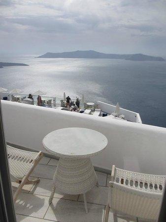 Belvedere Santorini : balcony