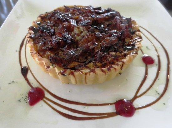 Fairview Nineteen cafe restaurant bar: Lunch tart