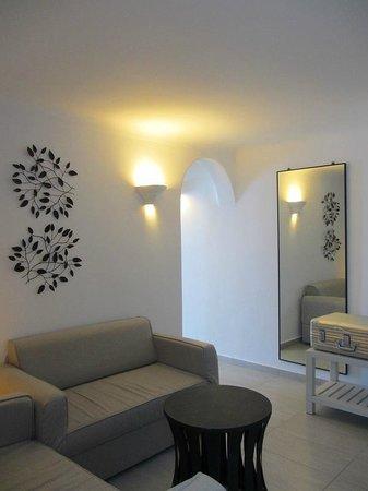 Belvedere Santorini : living room