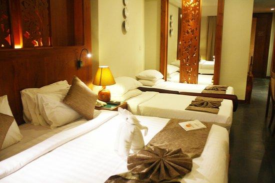 Kuta Seaview Boutique Resort & Spa : New Family Room
