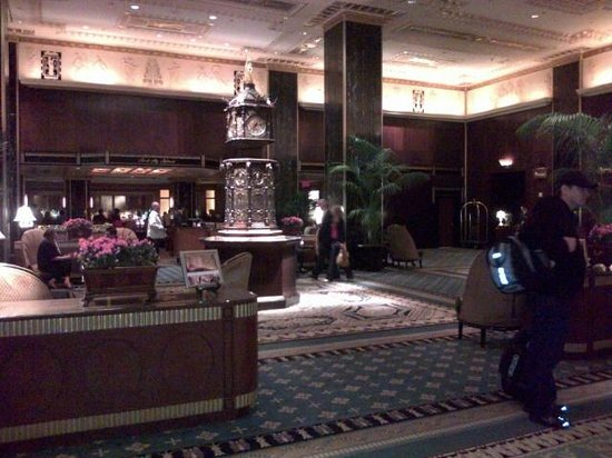 Waldorf Astoria New York: lobby