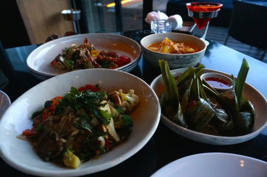 Paresa Resort Phuket : Some of the delicious food on offer at the restaurant