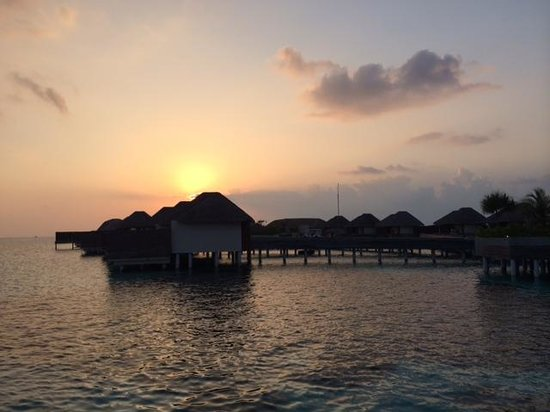 W Maldives: Amazing sunsets