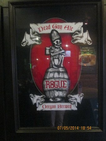 Roadhouse Barbecue: large variety of suds!