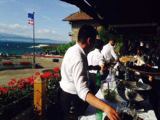 Hotel Le Jules Verne : Terrasse panoramique