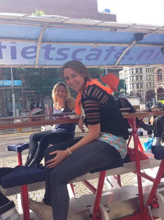 LimoBike : Having a little break from peddling!