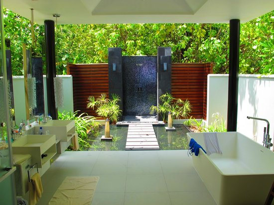 Niyama Private Islands Maldives : salle de bain