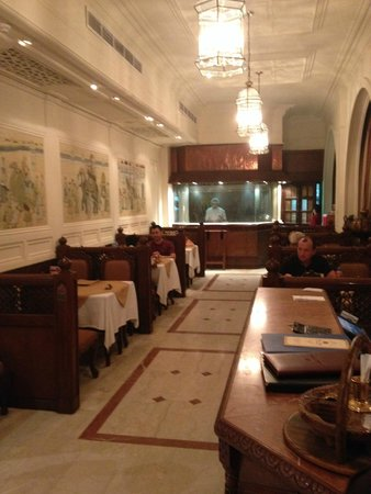 Indian Palace: Part of the dining area