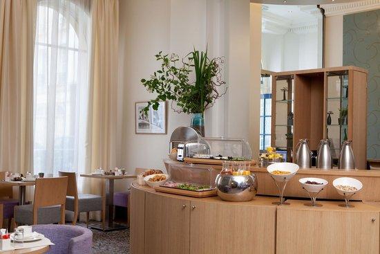 Hotel Corona Opera: Salle petit dejeuener