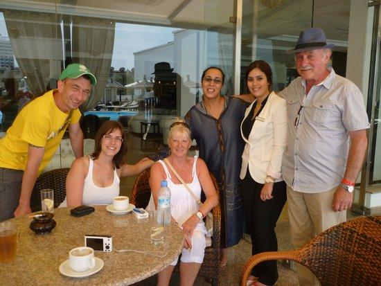 Royal Mirage Agadir Hotel: les 2 Loubna toujours souriantes et serviables