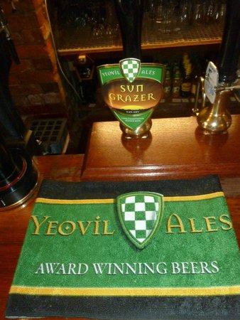 The Mitre Inn: Fancy a pint of Yeovil Ale?