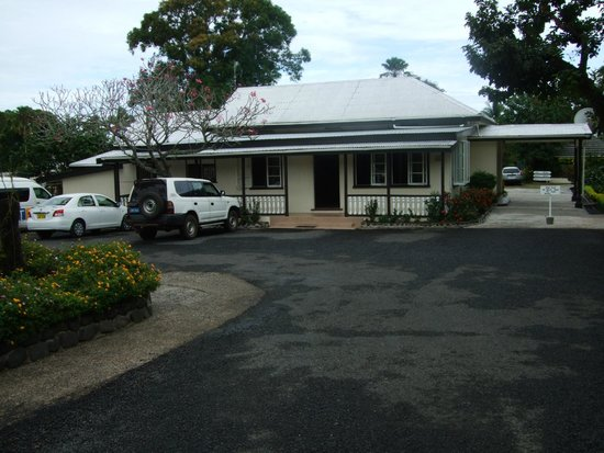 Tanoa Rakiraki Hotel: Reception & Restaruant