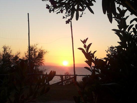 Agriturismo La Villanella : tramonto