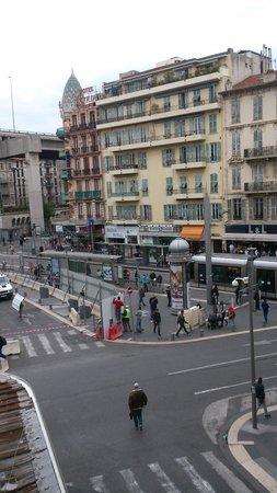 Vieille Ville (Ciudad vieja): Вид из номера