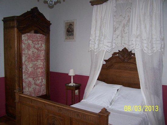 Flandes, Bélgica: La chambre de la suite St joseph