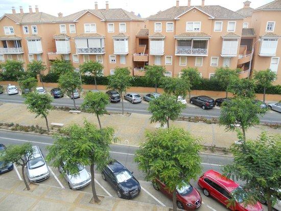 ILUNION Islantilla: Vista desde habitación