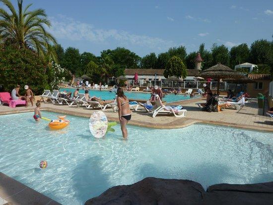 Camping Antipolis : les piscines