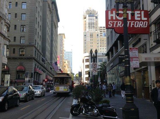 Hotel Stratford: Powell Street