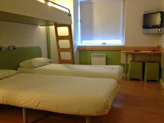 Ibis Budget Antwerpen City Central Station : disabled room
