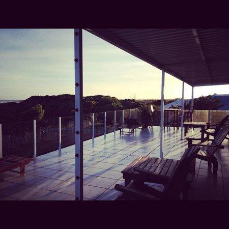 Island Vibe Jeffrey's Bay: Terrasse de la chambre