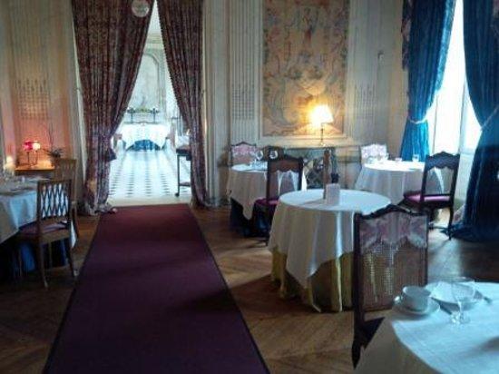 Chateau de Marechal de Saxe : Restaurant