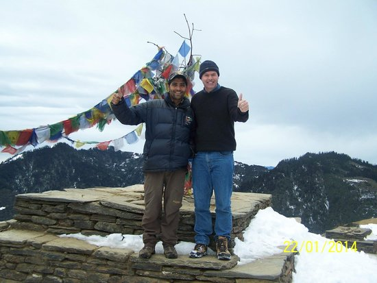 Outdoor Himalayan Treks - Private Day Tours: Reaching altitude near Ghorepani