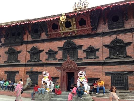 Kumari Chowk : クマリの館全景
