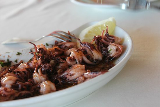 Restaurante Snack-Bar Rocha: Squid Heads