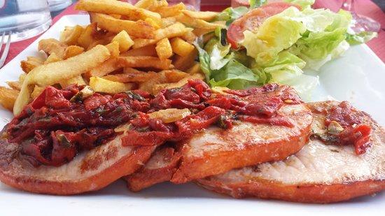 La Bodega Bidarte : lomo et frites