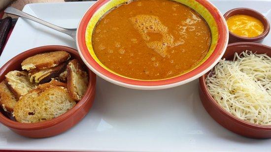 La Bodega Bidarte : soupe de poissons