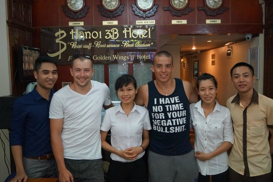 Hanoi 3B Hotel: Best staff ever