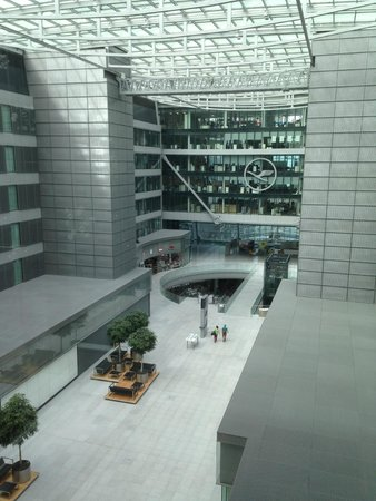 Hilton Garden Inn Frankfurt Airport: View from the Hotel