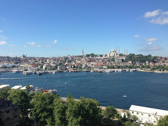 Istanbul Golden City Hotel: Amazing view from our terrace