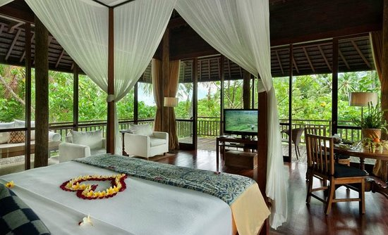 Komaneka at Bisma: Master Piece of Bisma Residence 3 Bedrooms Pool Villa