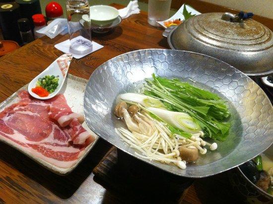 Hotel Shirakawa Yunokura : 夕食