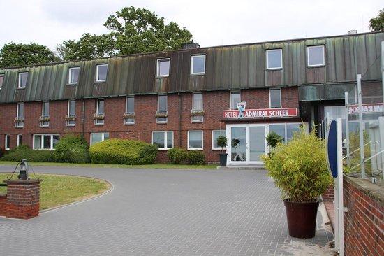 Hotel Admiral Scheer: Außenansicht