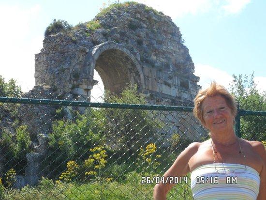 Agora Open Air Museum: mas restos, han pasado siglos de historia