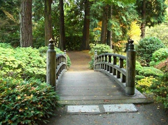 Portland Japanese Garden : Японский Cад, Портленд