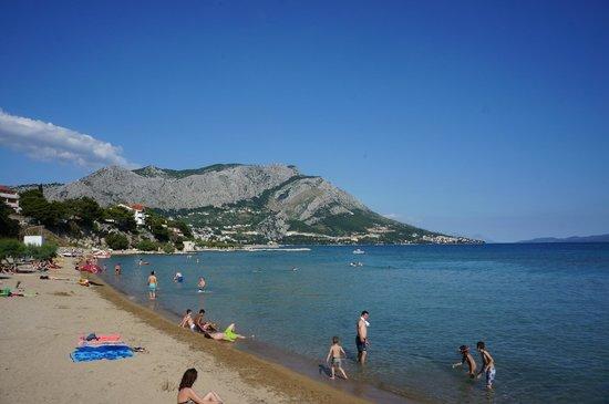Hotel Damianii: beach area across the street