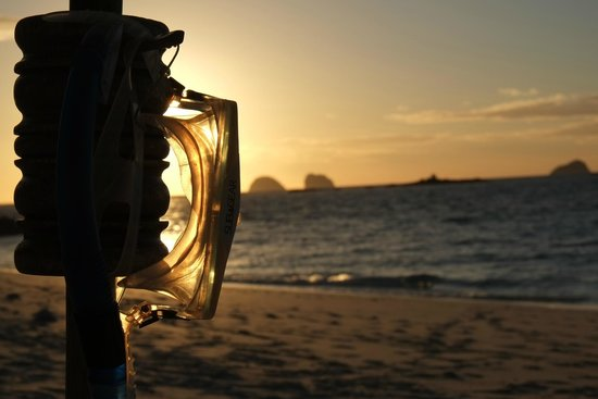 Constance Tsarabanjina: tramonto da ns ombrellone spiaggia nord