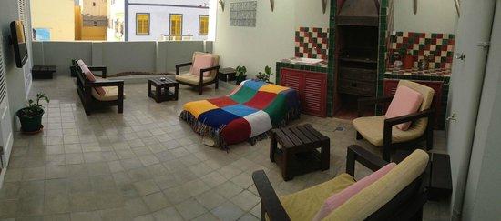Casa Cafe Mindelo: Terraço (Lounge)