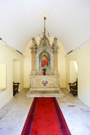 The Pucic Palace : The Chapel of the Sacred Heart of Jesus