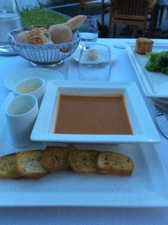 Sofitel Golfe d'Ajaccio Thalassa sea and spa : soupe de poissons