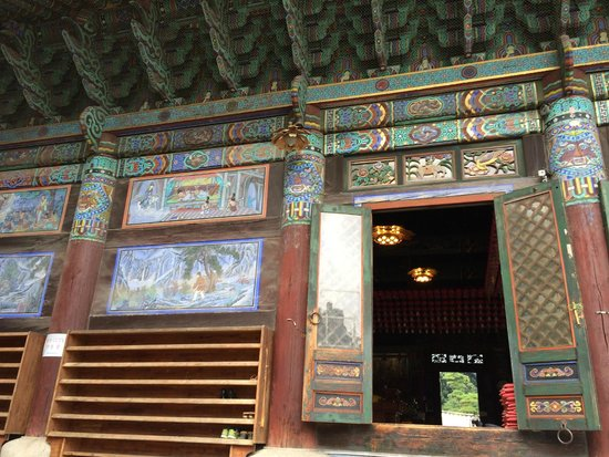 Bongeunsa Temple : temple hall